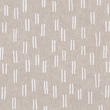 Balboa Linen/Cotton - Lines - Flax