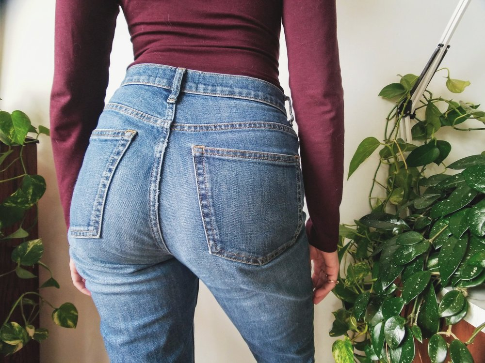 Perhaps my favorite photo of my butt.