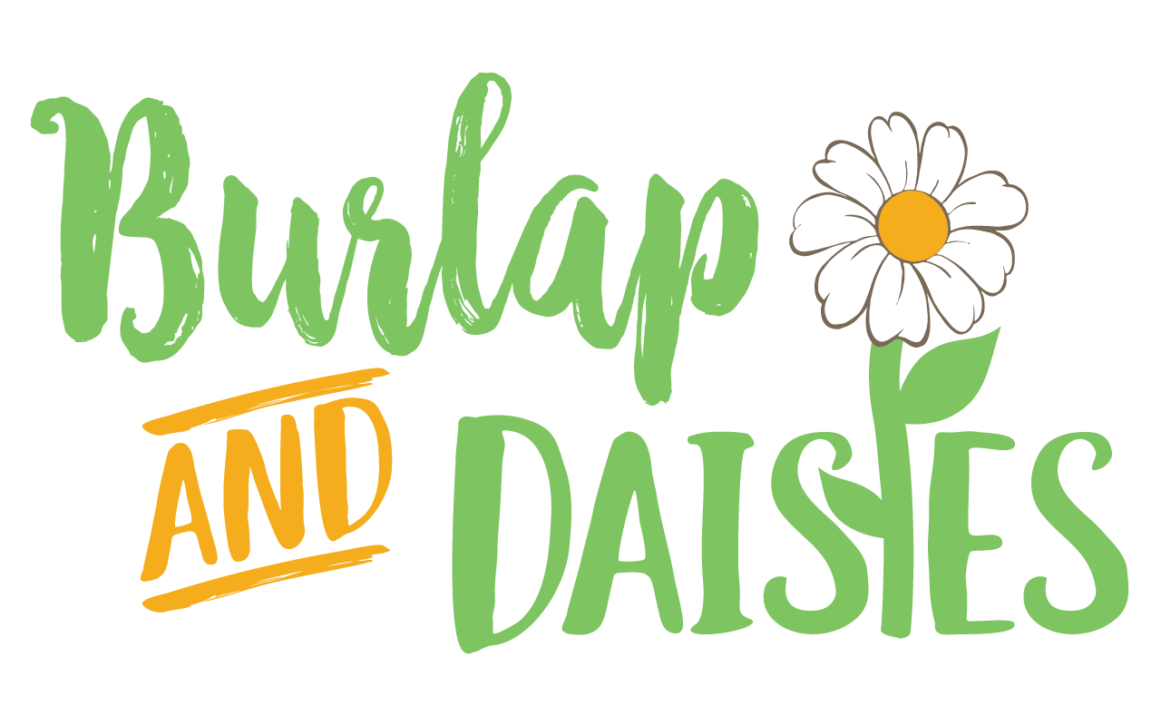 Burlap and Daisies