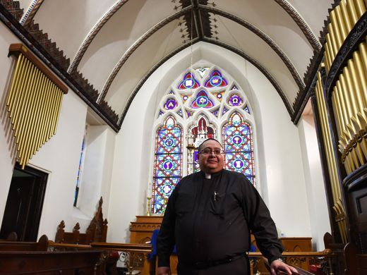 The Rev. Rod Perez-Vega, who helped save the pasties. (Photo: Anne-Marie Caruso/NorthJersey.com)