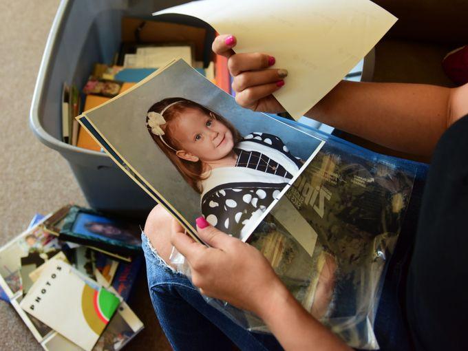 Amanda Zita's secret trauma drove her to homelessness and drug addicition.  Photo: Tariq Zehawi/Northjersey.com
