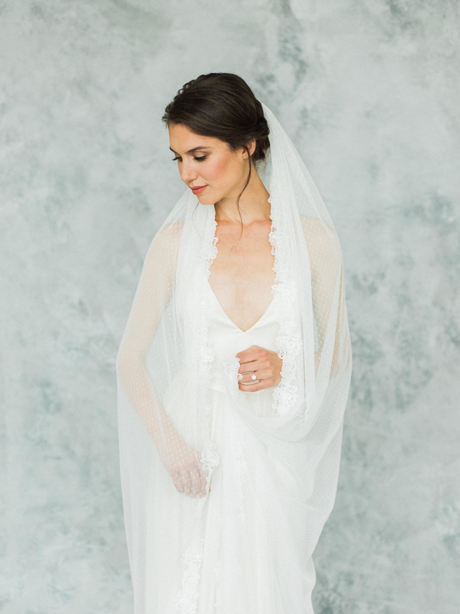 26a97ebfba Swiss Dot Veil — Annie Ekstrom Bridal