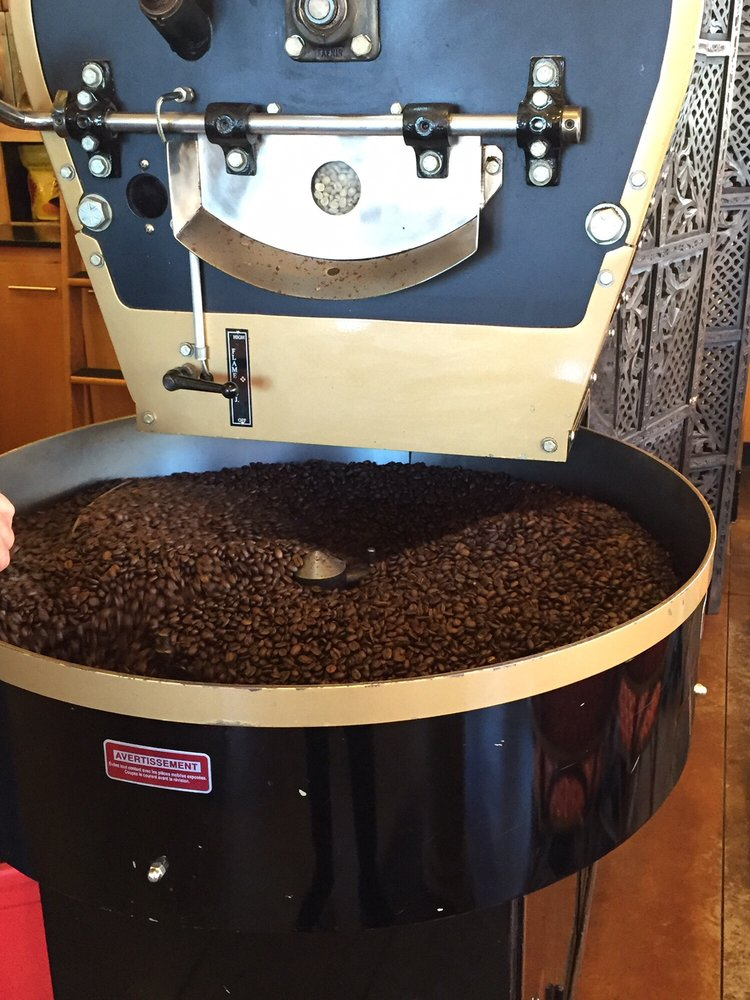 Monday is roasting day! Pick up some beans fresh roasted today! -