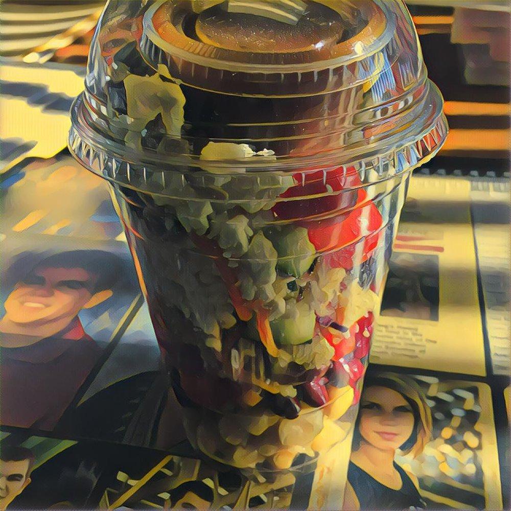 Mediterranean Sunflower Salad