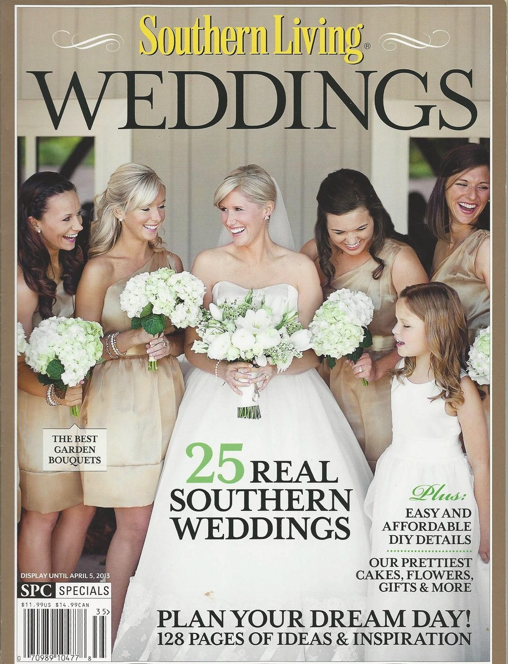 Southern Living Wedding  April 2013