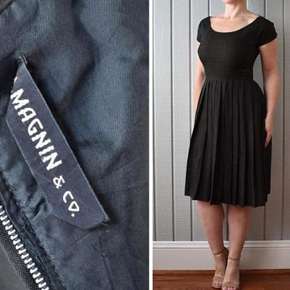 40s I. Magnin Dress | $215