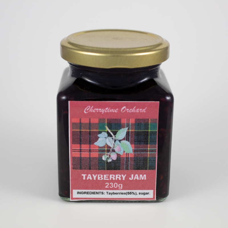 A taste of Scotland. The sweetest of our jams. This natural cross of a blackberry and raspberry has the best of both flavours. It has been likened to pink lemonade mixed with cassis.