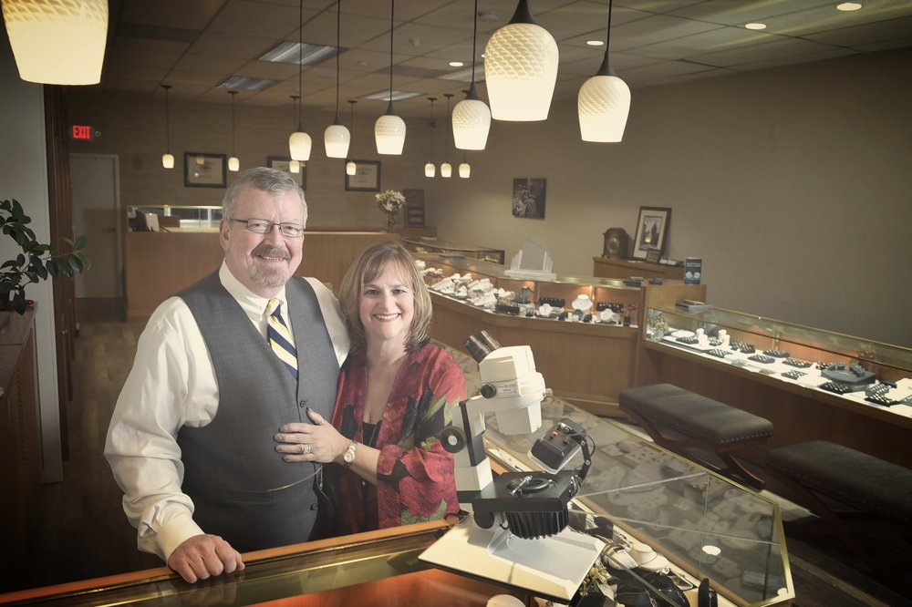 John & Kelly Edgar, Owners, Oletowne Jewelers