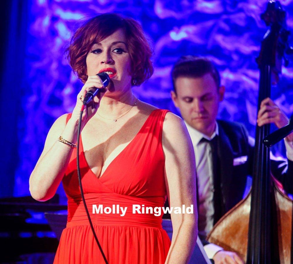 Molly Ringwald Iridium NYC