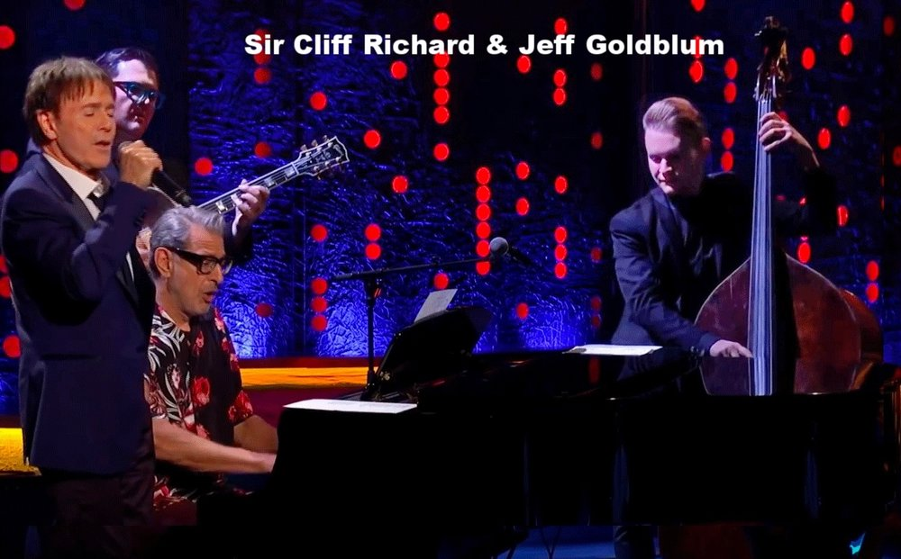 Sir Cliff Richard & Jeff Goldblum