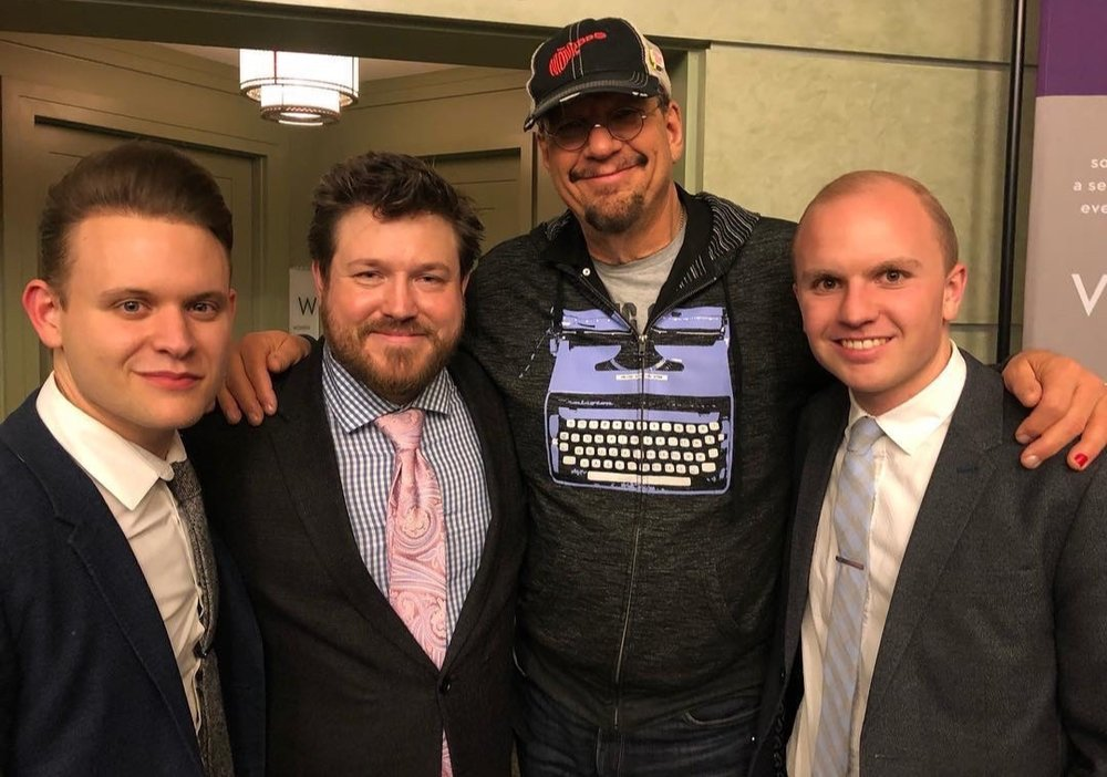 Penn Jillette with The Lineage Trio