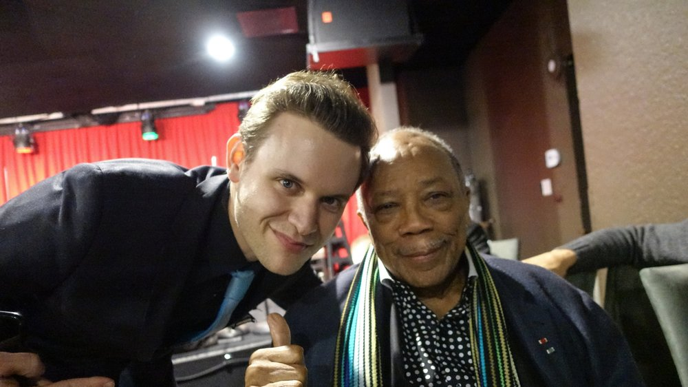 Alex Frank & Quincy Jones
