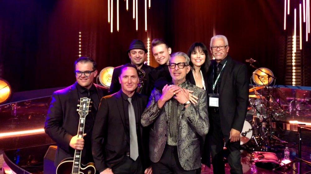 Jeff goldblum, Imelda May  & The Mildred Snitzer Orchestra