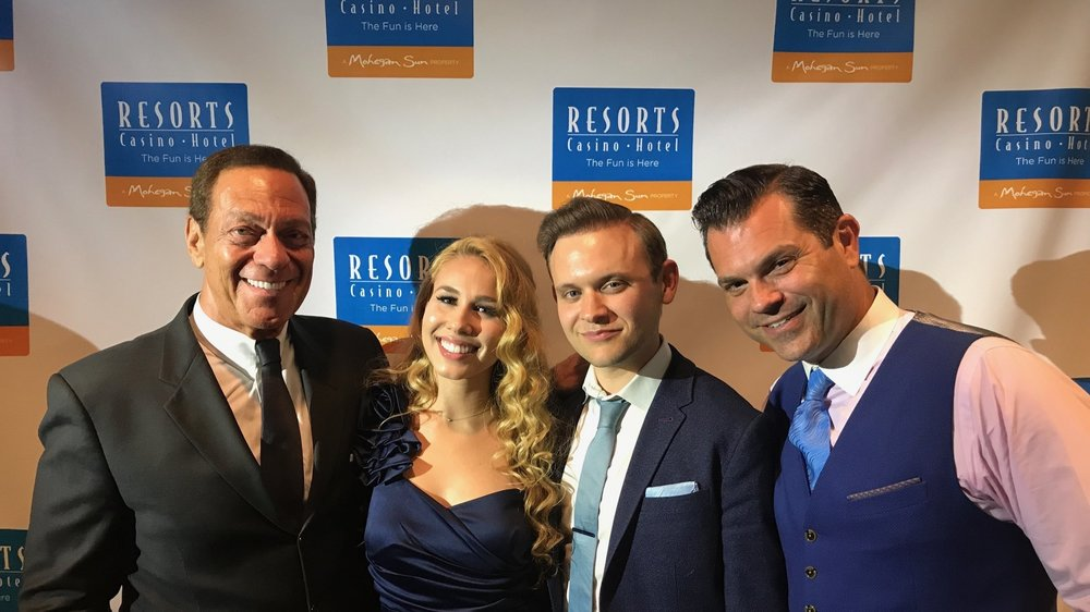 Joe Piscopo & Haley Reinholt @ Resorts