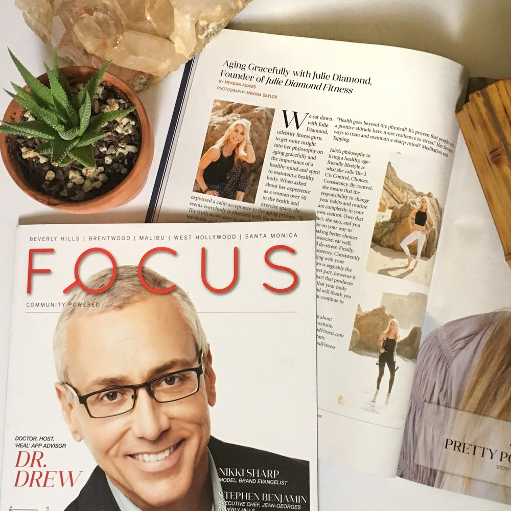 Julie Diamond Fitness Focus Magazinejpg