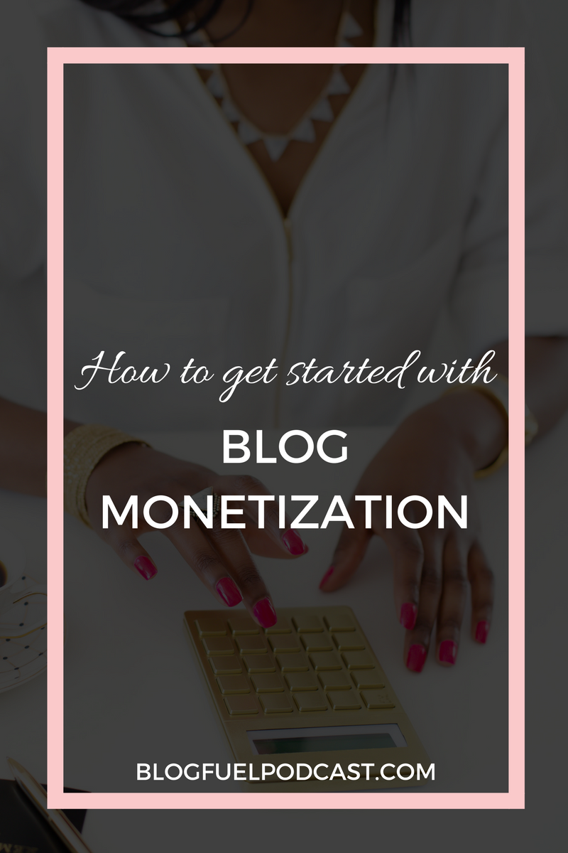 Blogging is not a get rich quick scheme, unfortunately, but there are ways you can start making a little bit of cash from the beginning. Blog Fuel podcast ep. 025 dives into blog monetization, breaking down affiliates, ads, sponsored posts, and how NOT to sell out.