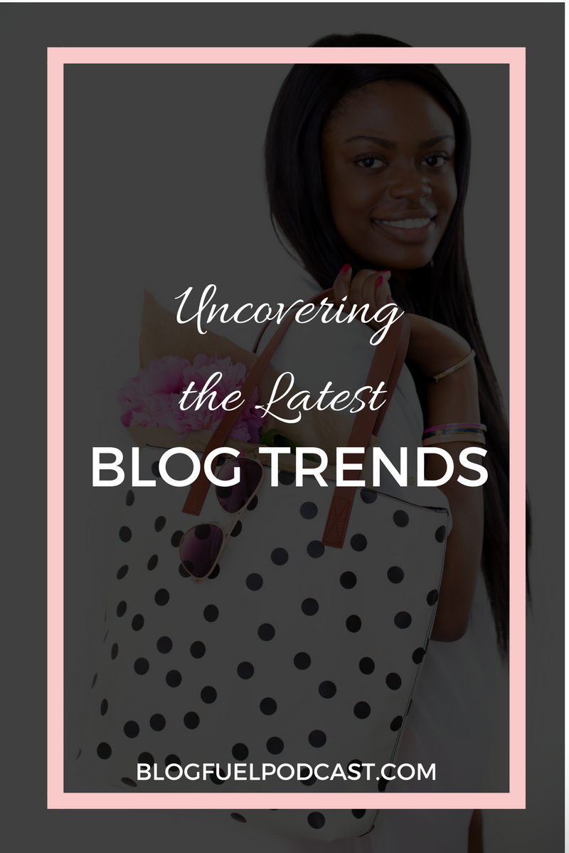 There are always new blog trends popping up, but should you follow them? This episode of the Blog Fuel podcast talks about starting a blog to make money, sharing income reports, gauging your success on pageviews, and more!