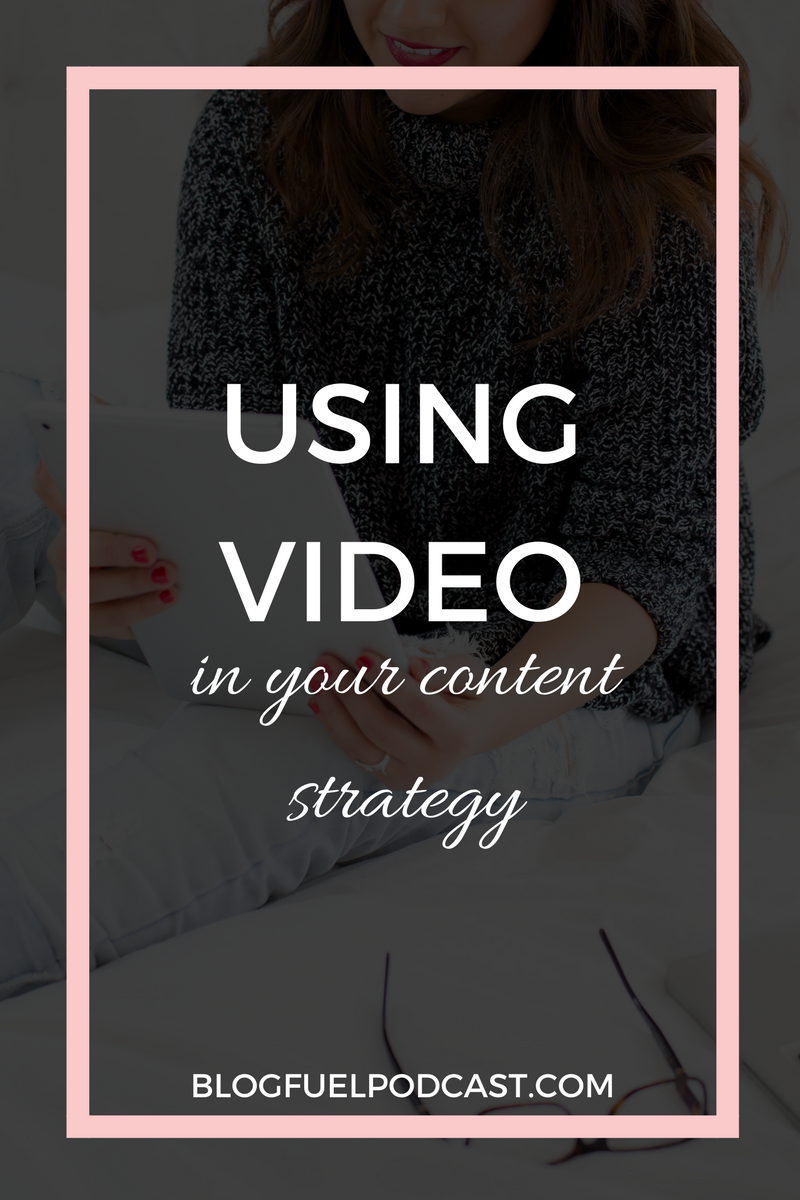 If video is not yet part of your content strategy, stop whatever you're doing and listen to this episode! You need to be using video in your content strategy, friend! Erin & I break down creative ways to incorporate video, and offer tips to get over your fear of LIVE video!