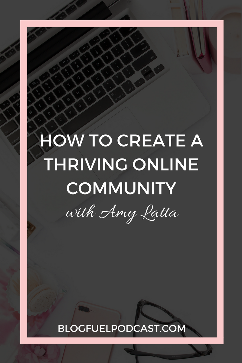 With the ever-changing algorithms on social media, it's increasingly more difficult to develop a thriving online community of readers online. In the Blog Fuel podcast Ep. 002, Amy Latta of One Artsy Mama shares how she has created her community and how she consistently fosters engagement with her readers.