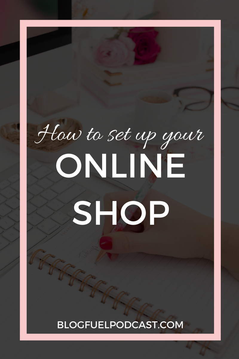 Creatives who set up a shop online have some work ahead of them, and it's not just creating the inventory! Erin dishes on how to set up your online shop, and talks about pricing, taxes (YIKES!), marketing, and so much more in Blog Fuel podcast episode 027!