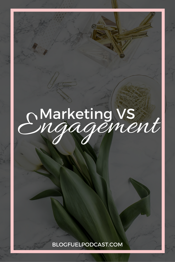 Marketing doesn't have to be sleazy. In fact, it shouldn't. You can effectively work the marketing of your business through incredible engagement!