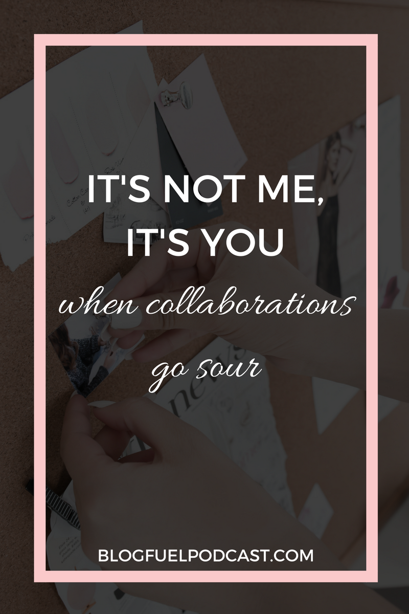 Collaborations are great for expanding your business's reach, getting in front of new audiences, and making a project more fun! But sometimes, they go sour, and you have to break up. And sometimes, those break-ups can get downright ugly.  In this week's episode, Erin and Kirsten talk about the 4 types of people you can potentially work with during collaborations - the victim, the defensive, the ghost, and the winner. (The winner is who you want to end up with!)