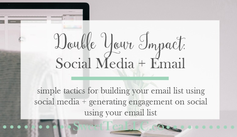 Double the impact of your marketing efforts by using social media and email marketing in tandem! Try these handy tips for expanding your reach on all platforms.