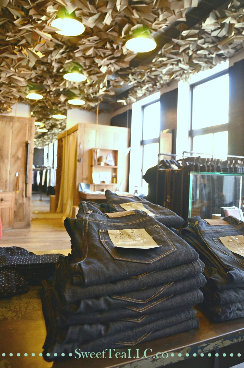 Raleigh Denim Workshop is a small business selling handcrafted denim jeans, and their business story, and how they run their business, taught me so much about how to run my own business.