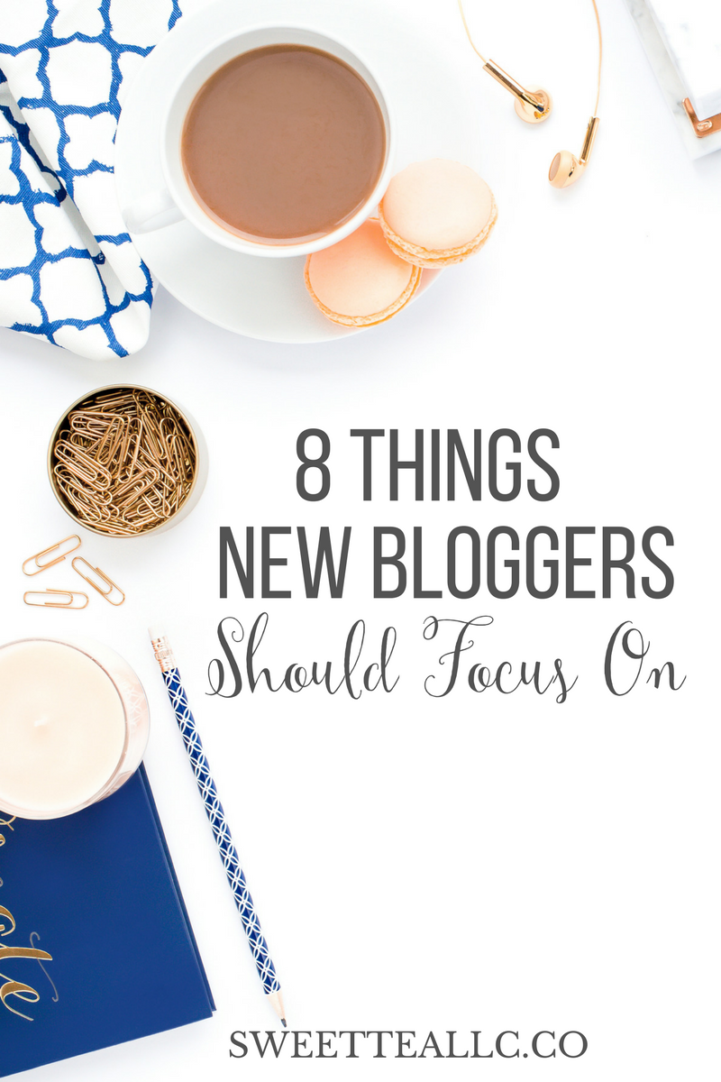Whether starting a new blog, or turning a hobby blog into a business, the amount of resources available can be overwhelming. These are the 8 things bloggers should focus on from the beginning to set themselves up for success.