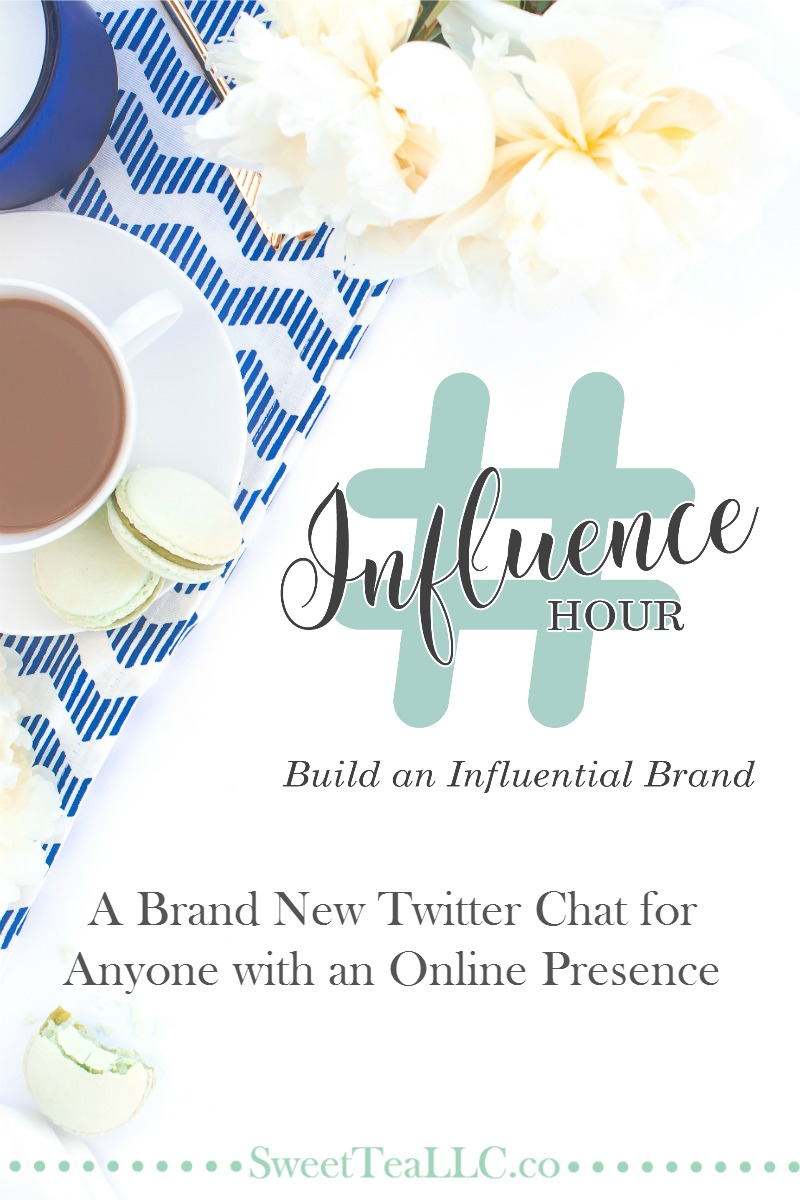 #InfluenceHour is a brand new Twitter chat for anyone with an online presence. Use your online platform for good, come together with others in the online space and build an influential brand. You're not in this alone. This is your tribe.