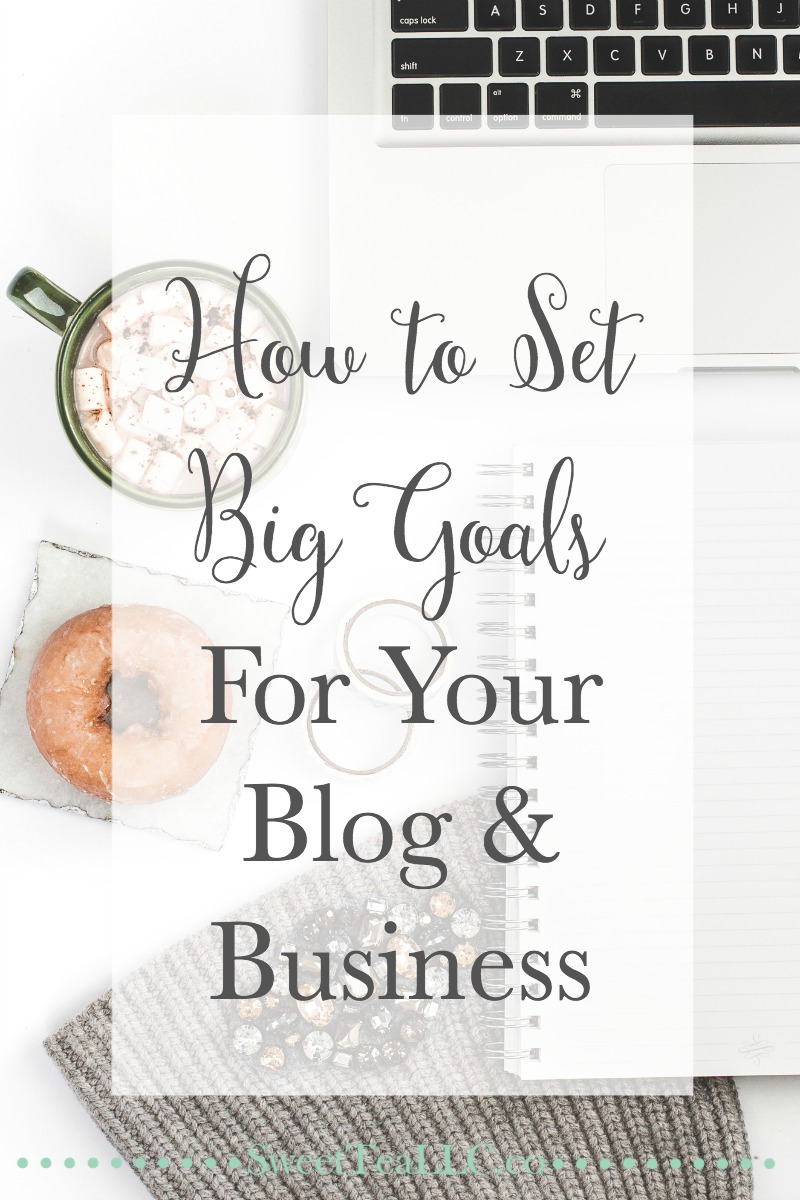 Goal-setting is something you should take very seriously. There is a right way and a wrong way to set goals for your blog & business. For example, don't set too many goals, but make them big enough that they scare you a little!