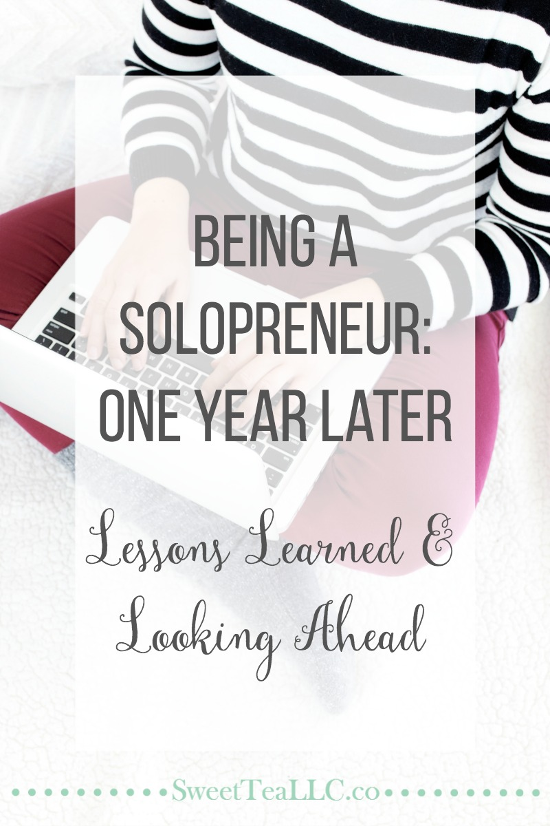 Being a solopreneur is both amazing, and incredibly stressful. On the one year anniversary of launching my business, I'm reflecting on the first year in business and sharing what I've learned, plus giving you a peek at what's to come.