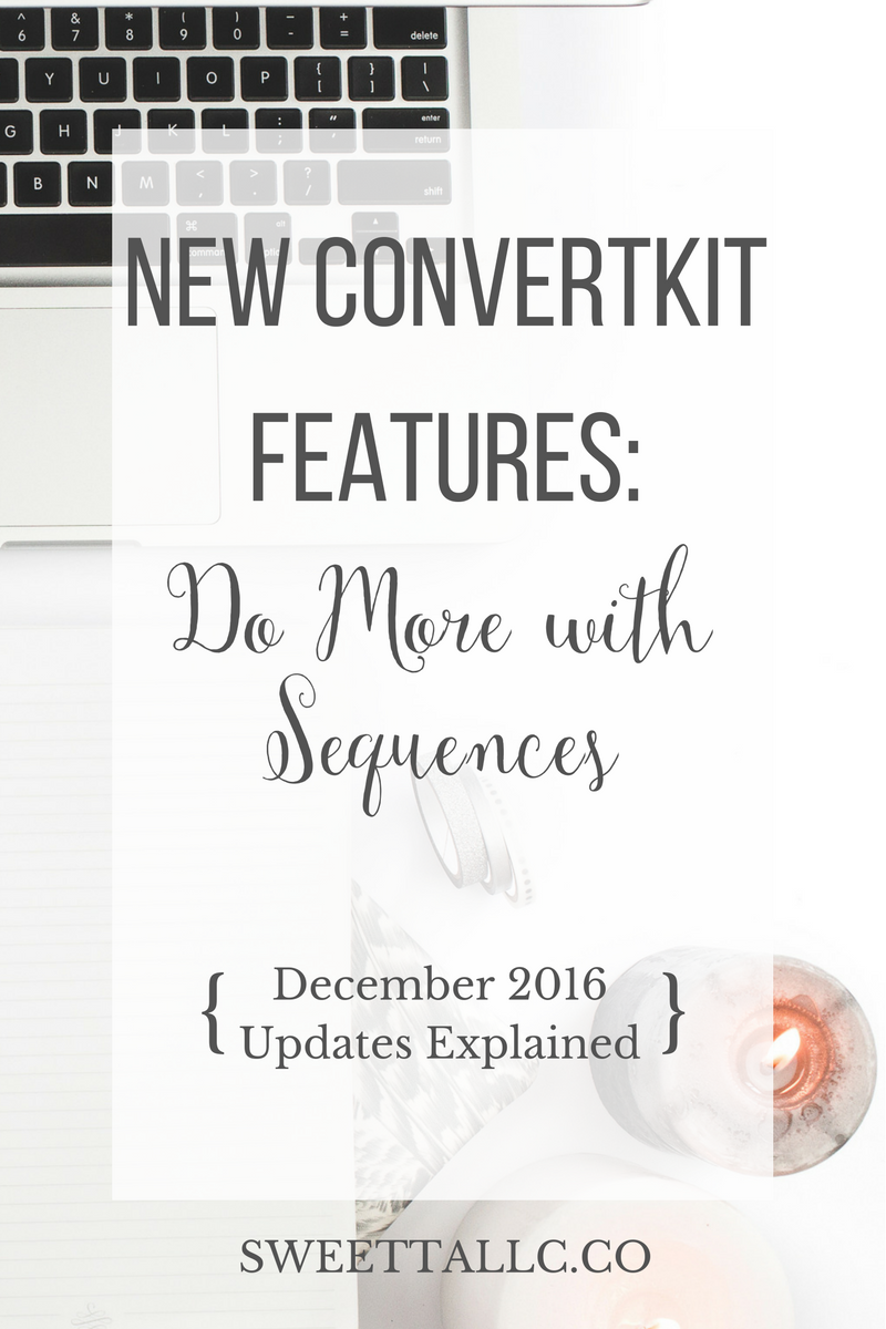 ConvertKit is a powerful email platform for bloggers and business owners, and continues to improve by releasing new features. As of December 2016, these improvements include advanced settings in sequences and improved reporting. Get all the details from a certified ConvertKit expert.