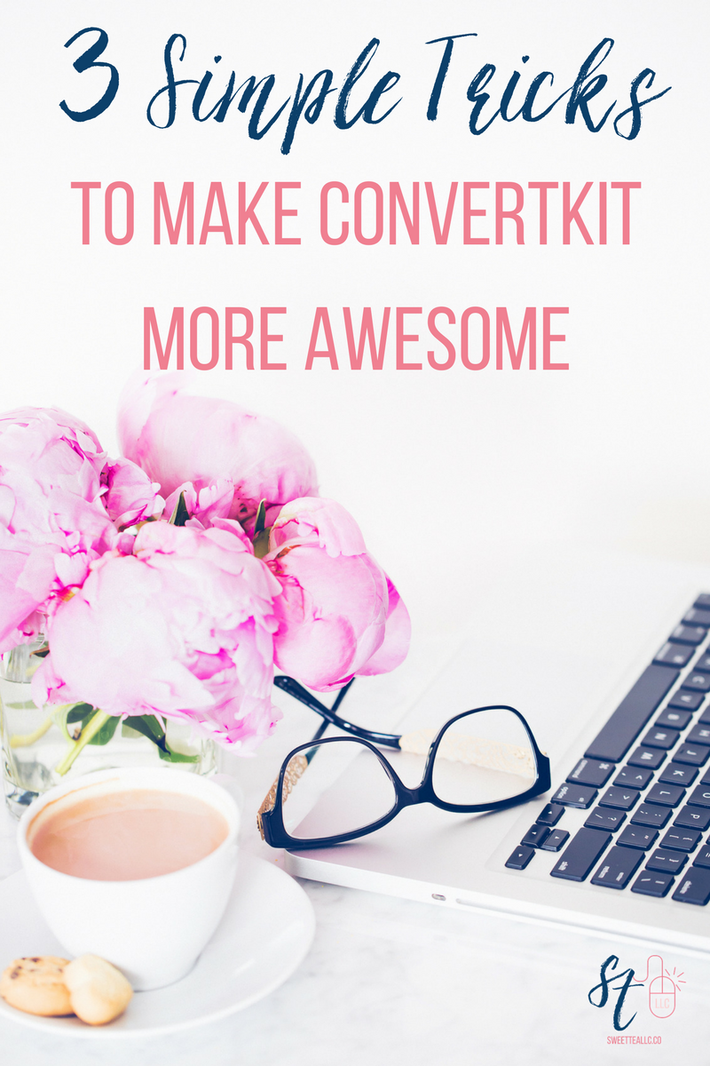 ConvertKit is a powerful email marketing platform for bloggers, and it's hard to know how to use all the features. These 3 simple tricks have made my email workflow much more streamlined, and allow me to use the ConvertKit platform more effectively.
