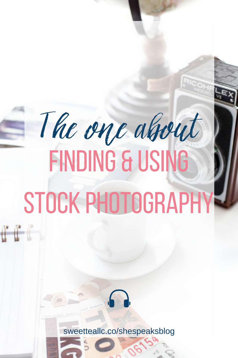 You can't just do a Google search and use whatever image comes up. You need to know which photos you can use, what Creative Commons means, and where to find great stock photography. It's all in this episode of She Speaks Blog!