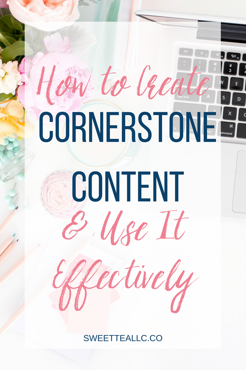 Cornerstone content pieces should be created for each of your main categories, and be a resource page of sorts, linking to other related content and essentially defining each category. Learn how to create cornerstone content and how to use it effectively.