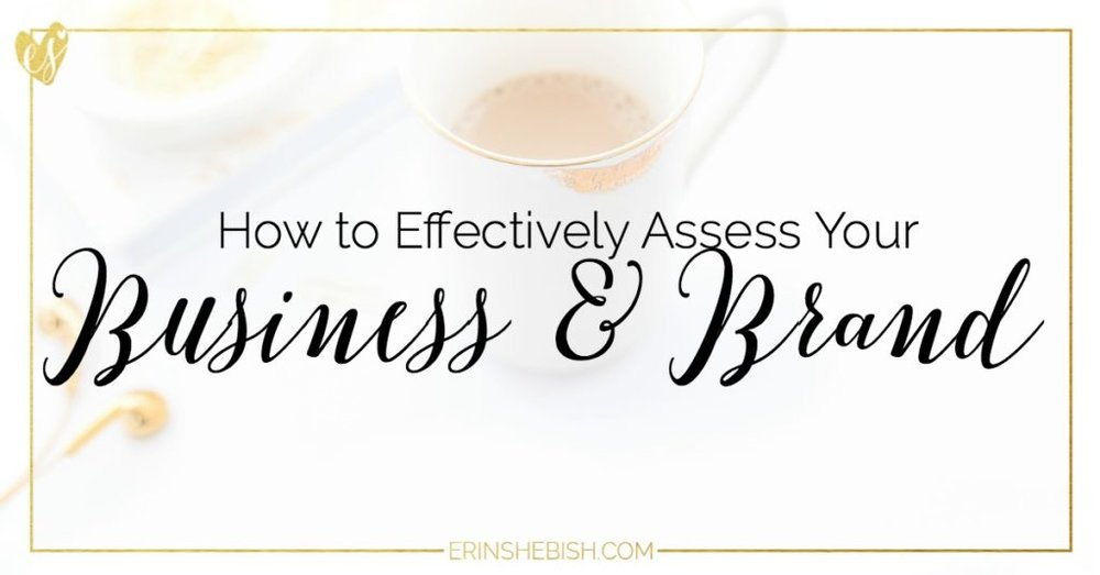 In order to really create effective goals, you need to assess your business and brand today. We're talking about mission statements, markets and branding!