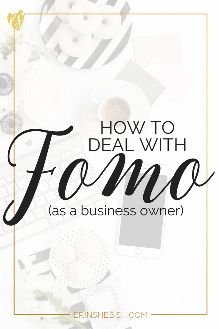 If you're a business owner, you've probably dealt with FOMO. Fear of missing out. But you don't have to let it own you. You can beat FOMO today!