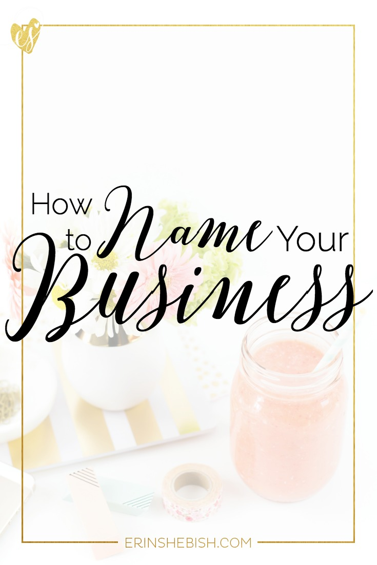 One of the first things you'll do as a business owner is name your business. And you want to make sure that your name is impactful. Here's how!