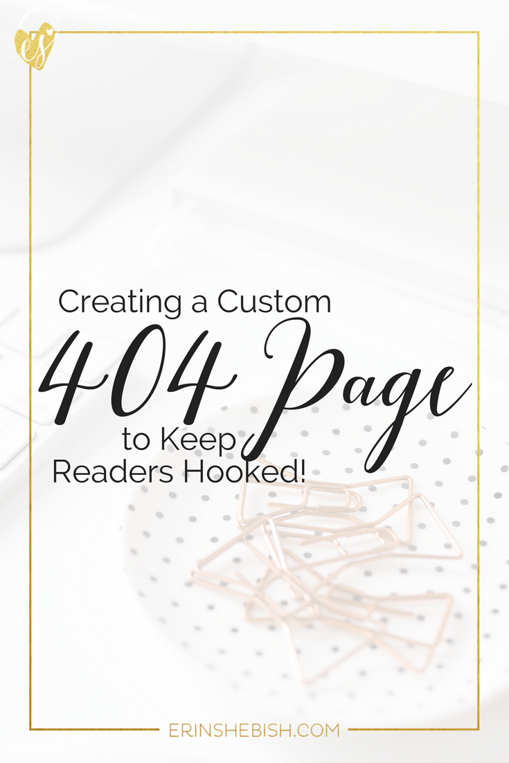 Your 404 page doesn't have to be a dead end for your readers! Make your 404 page work harder by customizing it to show your content and CTA!