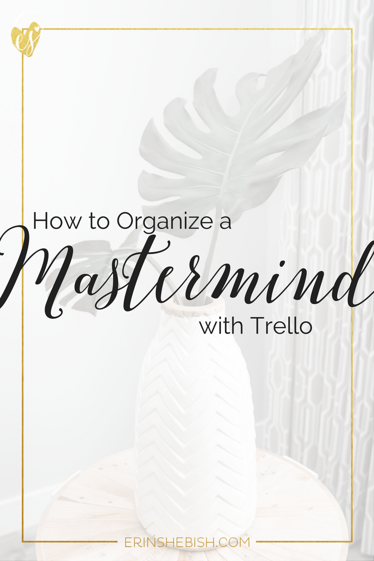 Don't let your mastermind fall apart! Organize it with Trello so you can make the most of this growth opportunity!