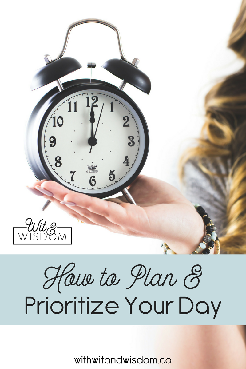 Your most productive day isn't that out of reach. It just requires planning and prioritizing. So let's work on that! We're going to prioritize your day to make the most of it!