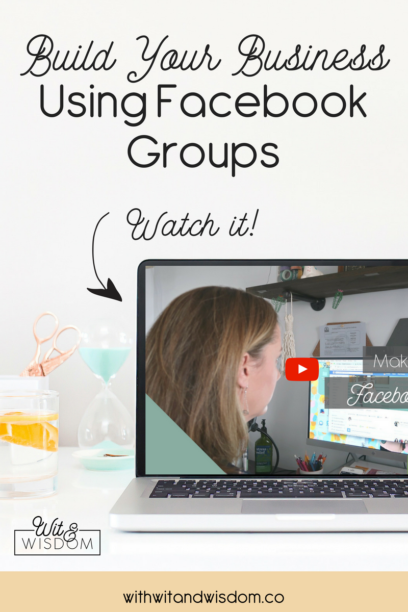 Facebook groups are a great tool you can use for your business to establish a sense of community, set yourself up as an authority, and, especially with the ever-changing algorithms, help you maintain visibility on Facebook.