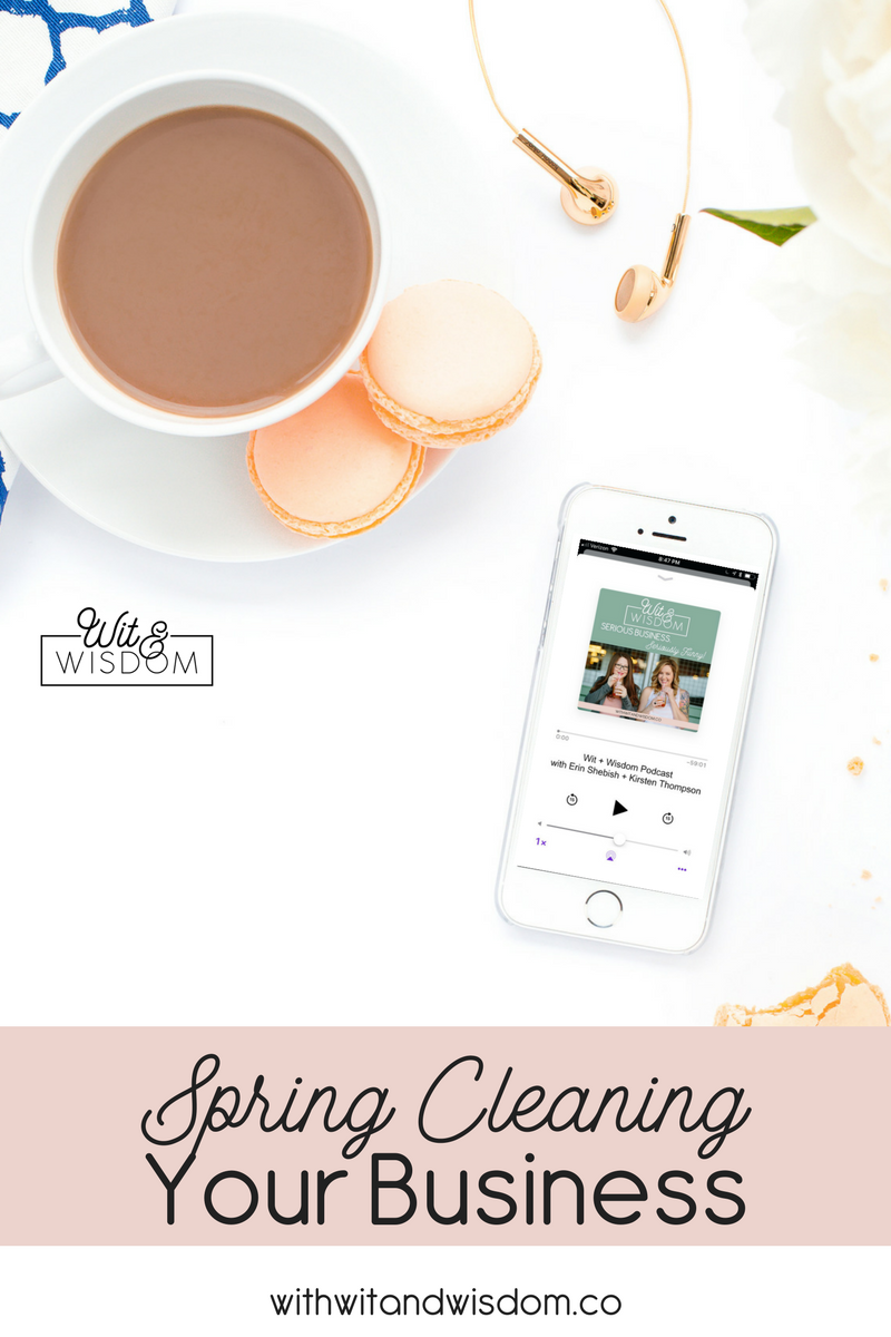 Grab your Febreze and Swiffer - it's time to spring clean your business! These tips will work great for quarterly business maintenance and clean-up, from cleaning your inbox and social media, to business finances.
