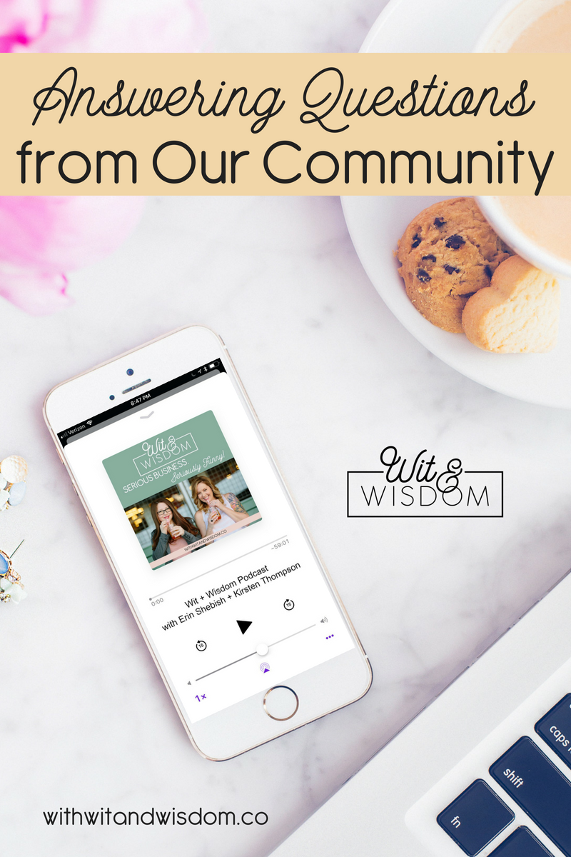 Our community members ask great questions, and we're answering some of them! We cover business resource overwhelm, fear of taking the leap, building a business with a 9-to-5 and more!