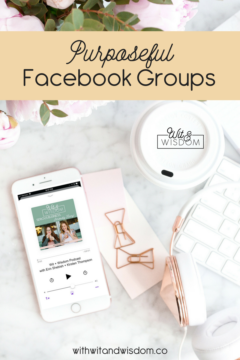 Not sure if a Facebook group is right for you? We're talking about when to start a group and how to make it super engaging and fun for you and your members!