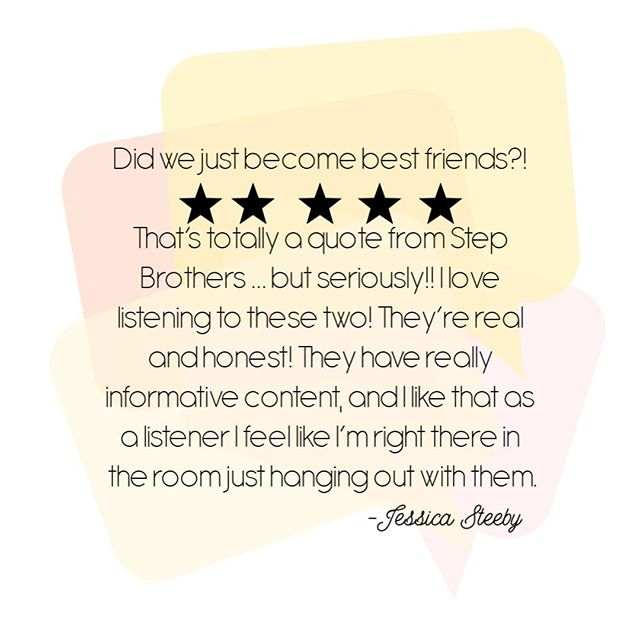 YASSSS, QUEEN, SLAY!!! These are the reviews that give us life. If you don't feel like you're sitting right next to us, we're not happy!  If you've yet to join us on the podcast, head to the link in our profile because we want you to join the 80,000+ downloaders out there!  #podcast #review  #business #inspiration #podcasting #motivation #entrepreneur #podcasts #podcaster #entrepreneurlife #startup #love #itunes #success #entrepreneurship #inspirational #hustle #smallbusiness #mindset