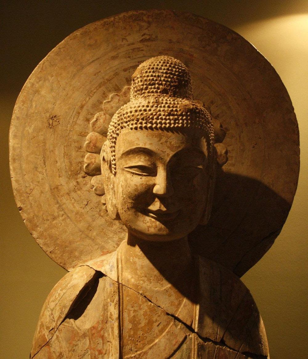 Una estatua de Buda tibetano. El budismo se encuentra entre un puñado de religiones que han influido en miles de millones, para bien o para mal. Vivek Prakash, Reuters