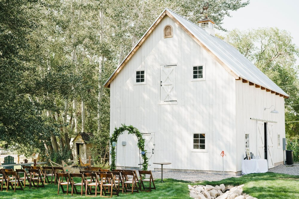 Barn event rental Utah