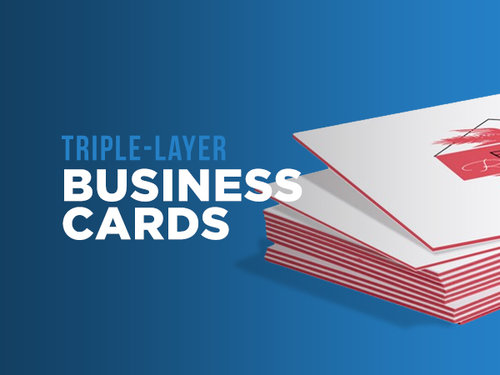 Triple layer business cards theory printing co triple layer business cards colourmoves